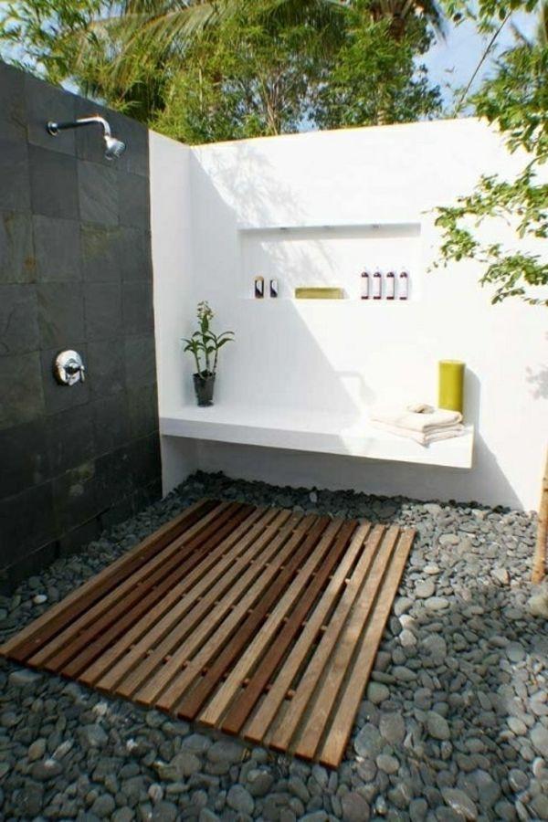 Le mod le de salle de bain ext rieur puret pour l esprit - Salle de bain tropicale ...