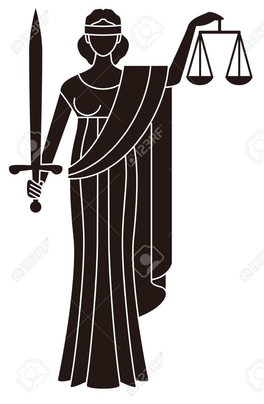 symbol of justice goddess of justice themis creative design rh pinterest com Usher Ministry Clip Art Justice for All Clip Art