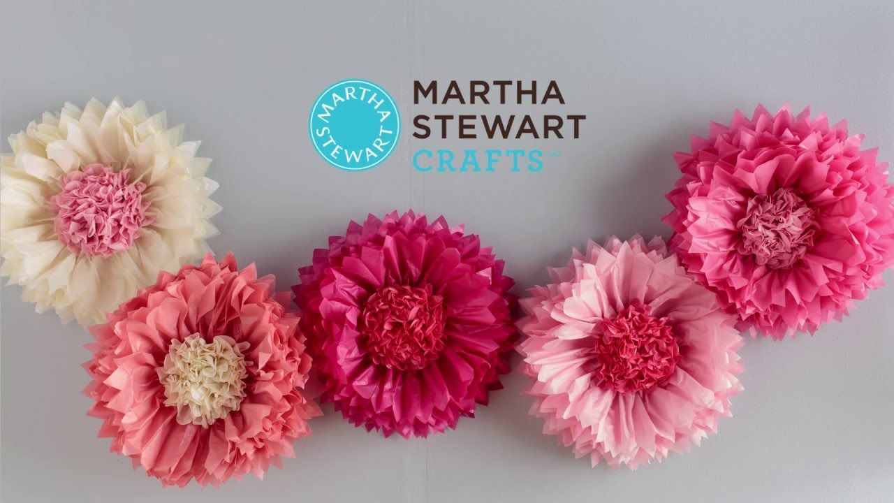 See how easy it is to get festive florals with the tissue flower pom see how easy it is to get festive florals with the tissue flower pom pom kit by martha stewart crafts this beautiful and realistic paper chrysanthemum mightylinksfo