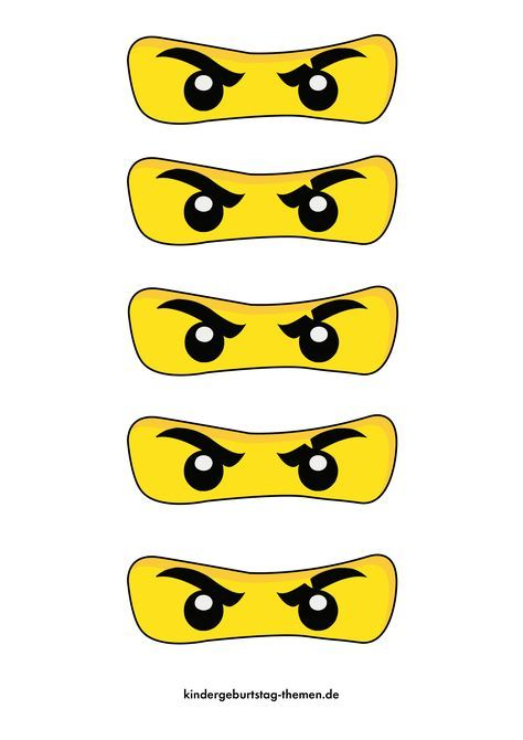 Photo of Ninjago invitation cards for children's birthday or party