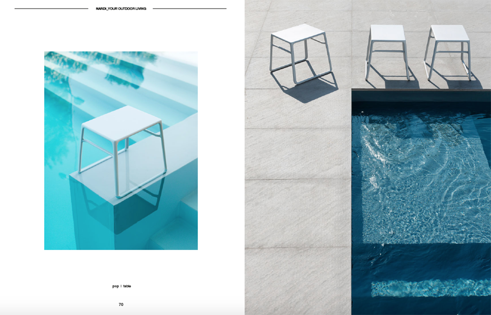 Catalogue / Campaign | Elisa Musso    NARDI GARDEN  OUT DOOR 2017  Concept&Styling: Elisa Musso