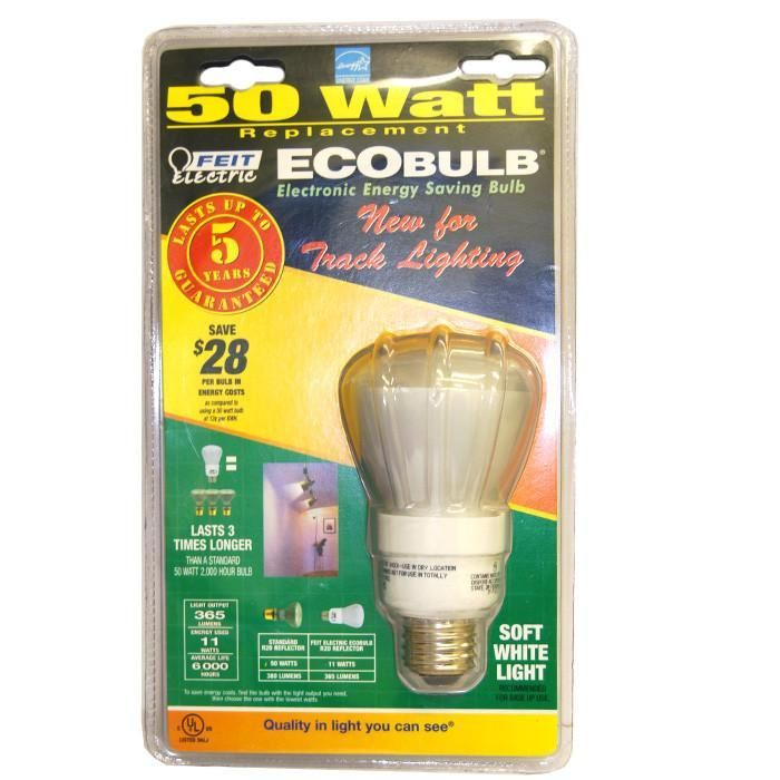 Feit 11w 120v R20 Eco Soft White 50 Watt Equiv Compact Fluorescent Light Bulb Light Bulb Bulb White Light