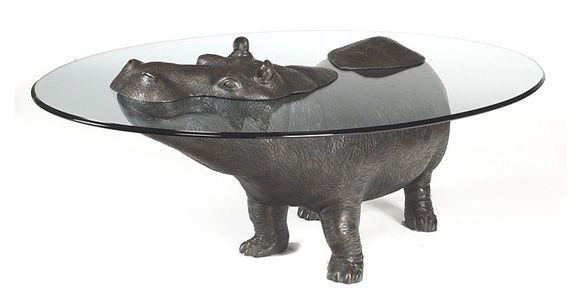 This hippo table by artist Mark Stoddart shut-up-take-my-money