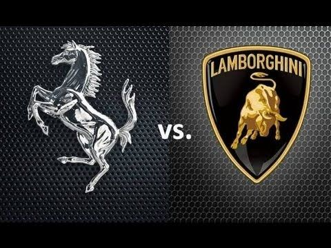 Ferrari vs Lamborghini Which logo resembles most to their