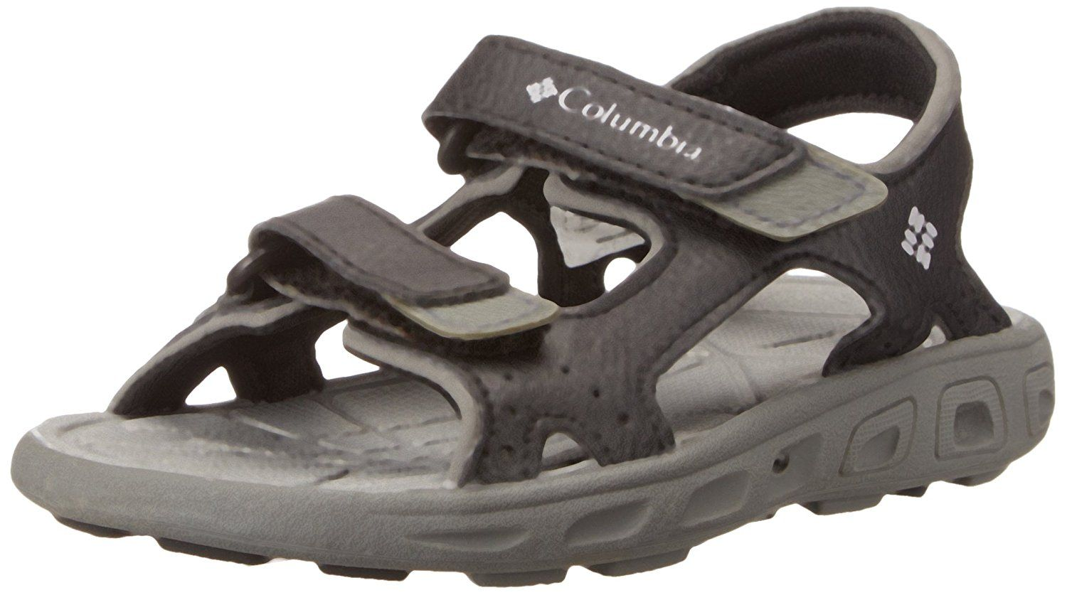 Columbia Childrens Techsun Vent Sandal (Toddler/Little Kid),Black/Columbia Grey,8 M US Toddler *** If you love this, read review now : Girls sandals