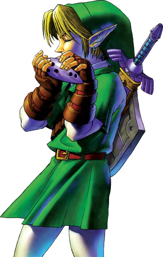 Link Playing The Ocarina Legend Of Zelda Ocarina Of Time Legend