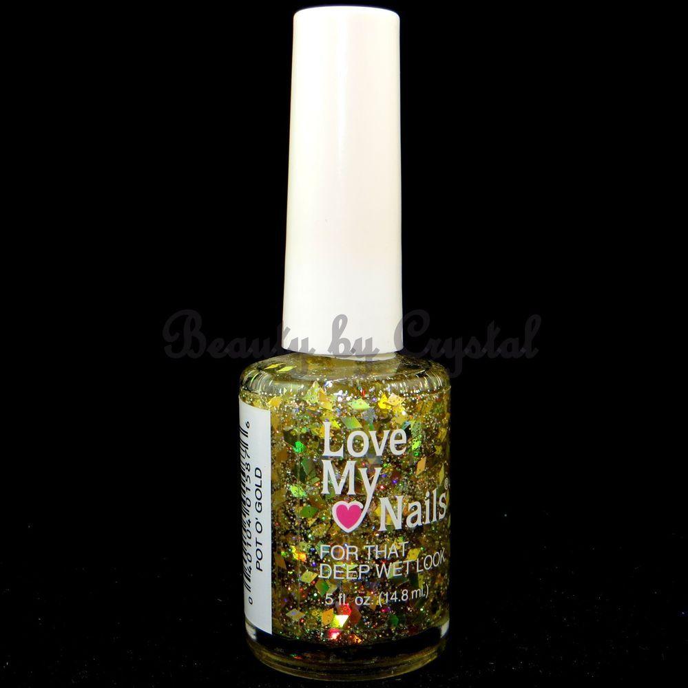 Love My Nails by Bari Nail Polish- POT O\' GOLD #1587 Clear w ...
