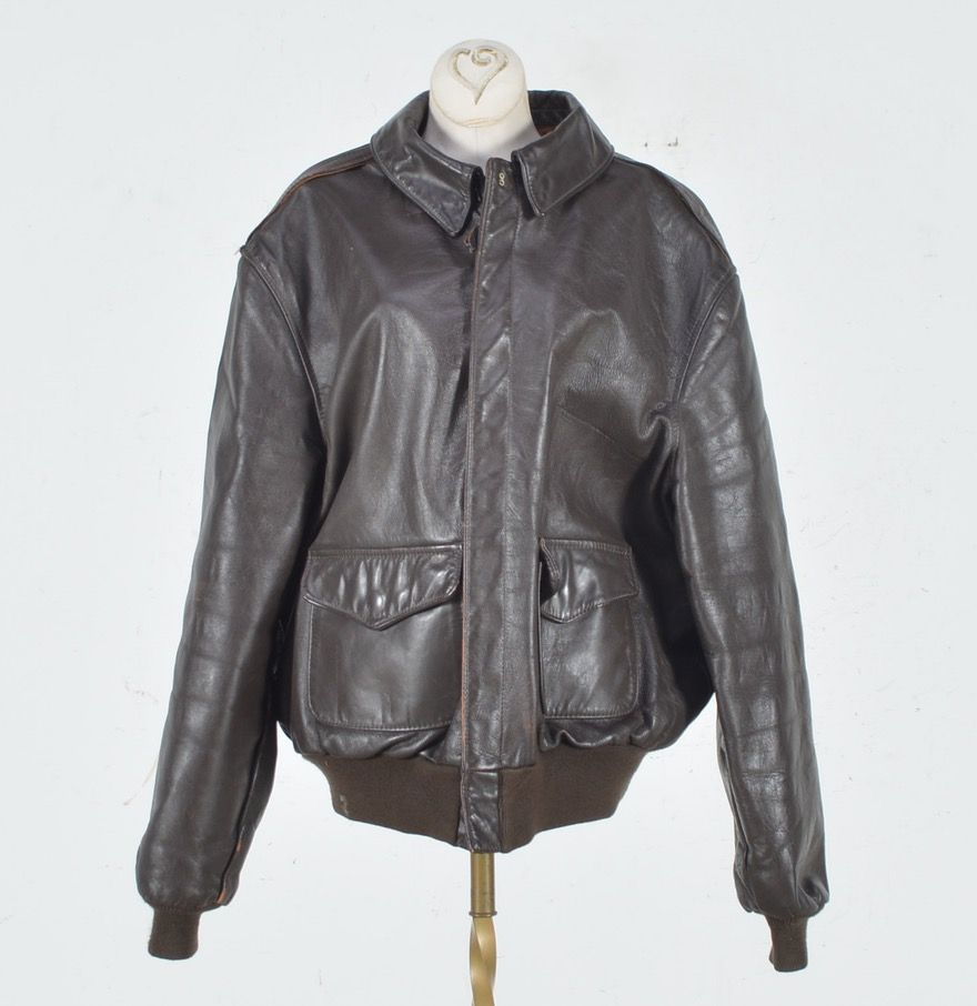 Vintage U S Army Air Force Leather Bomber Jacket Bomber Jacket Leather Bomber Jacket Jackets [ 906 x 880 Pixel ]