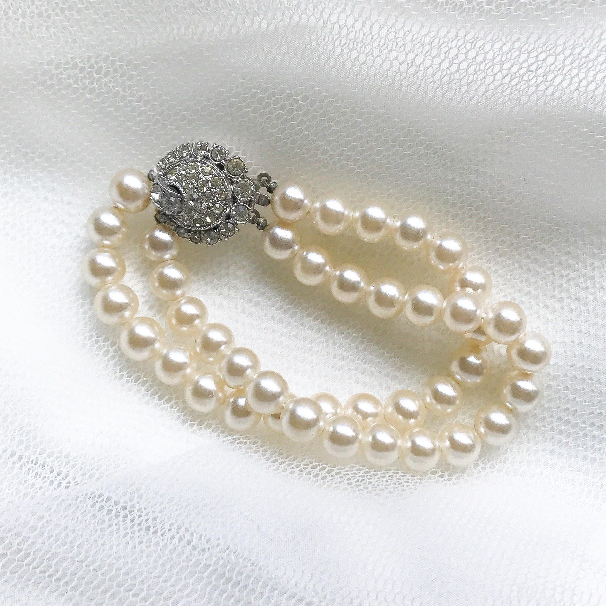 your bridal wedding perfect vintage bracelet a accessory makes day for pin this style pearl