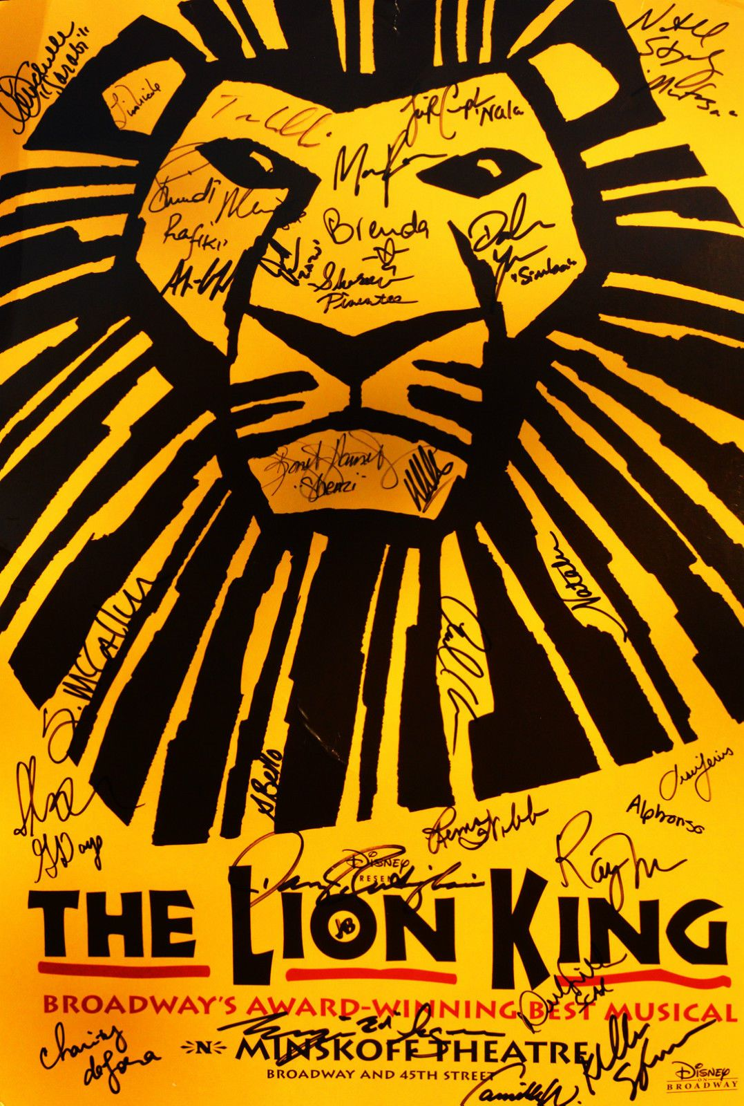 AUTOGRAPHED Richard Ross Poster