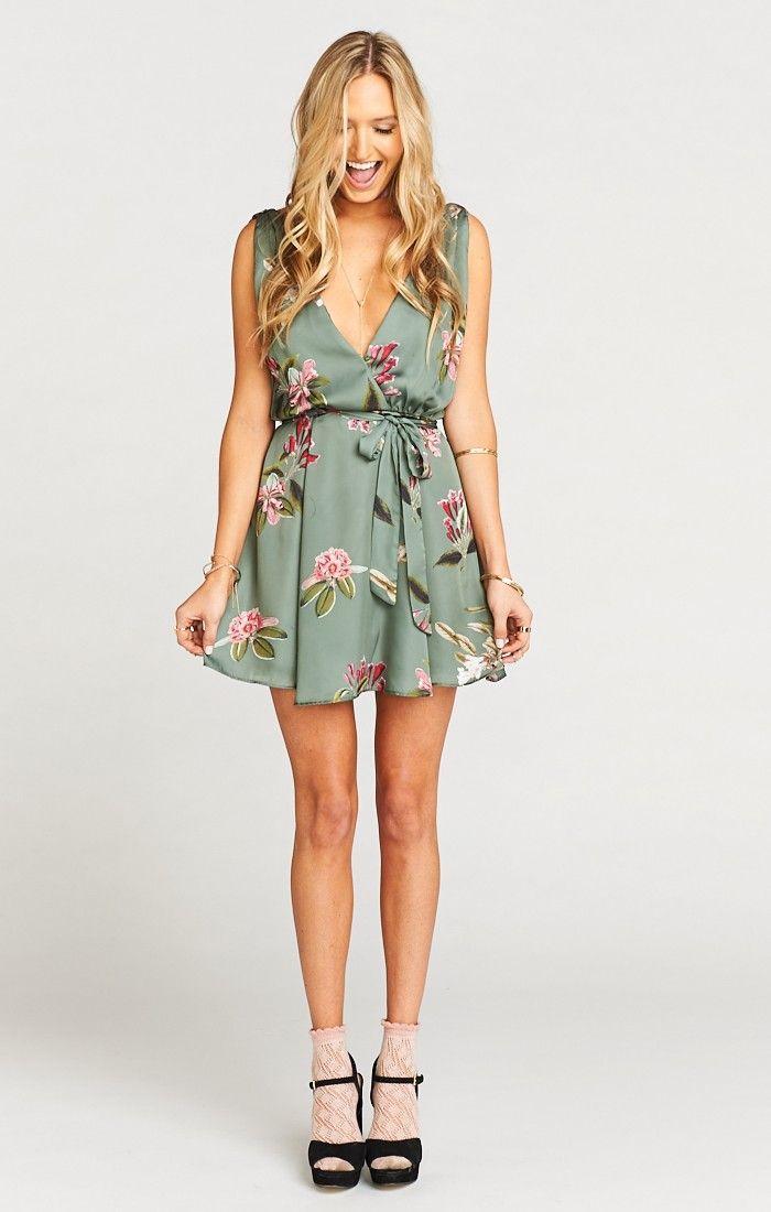 Show Me Your Mumu Crossover Dress Dresses Clothes
