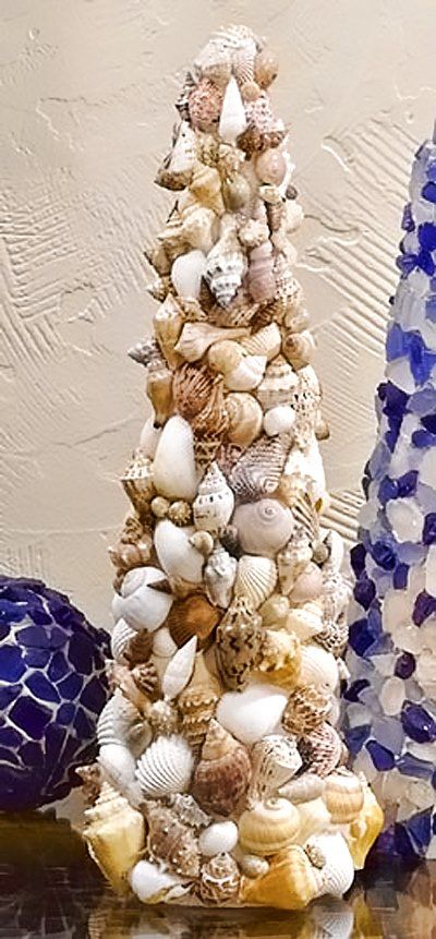 Center Peice Seashell Crafts Sea Glass Crafts Seashell