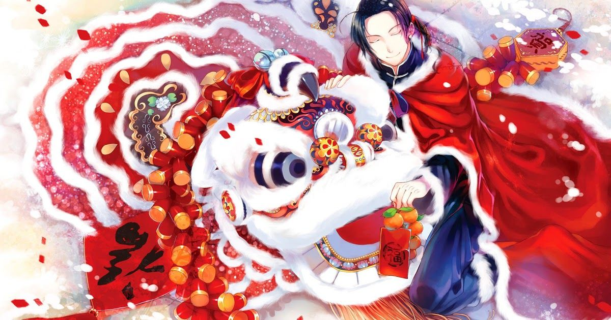 10 Anime New Year Wallpaper Iphone Chinese Anime Wallpapers Top Free Chinese Anime Lunar New Year By Tamypu On Deviantart Anime Mỹ Thuật Li Xi Senran Hetalia Chinese anime wallpaper hd