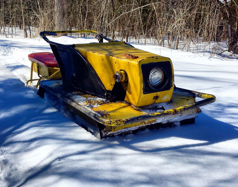 1964 Hus Ski 200a Skiing Snowmobile Toy Car