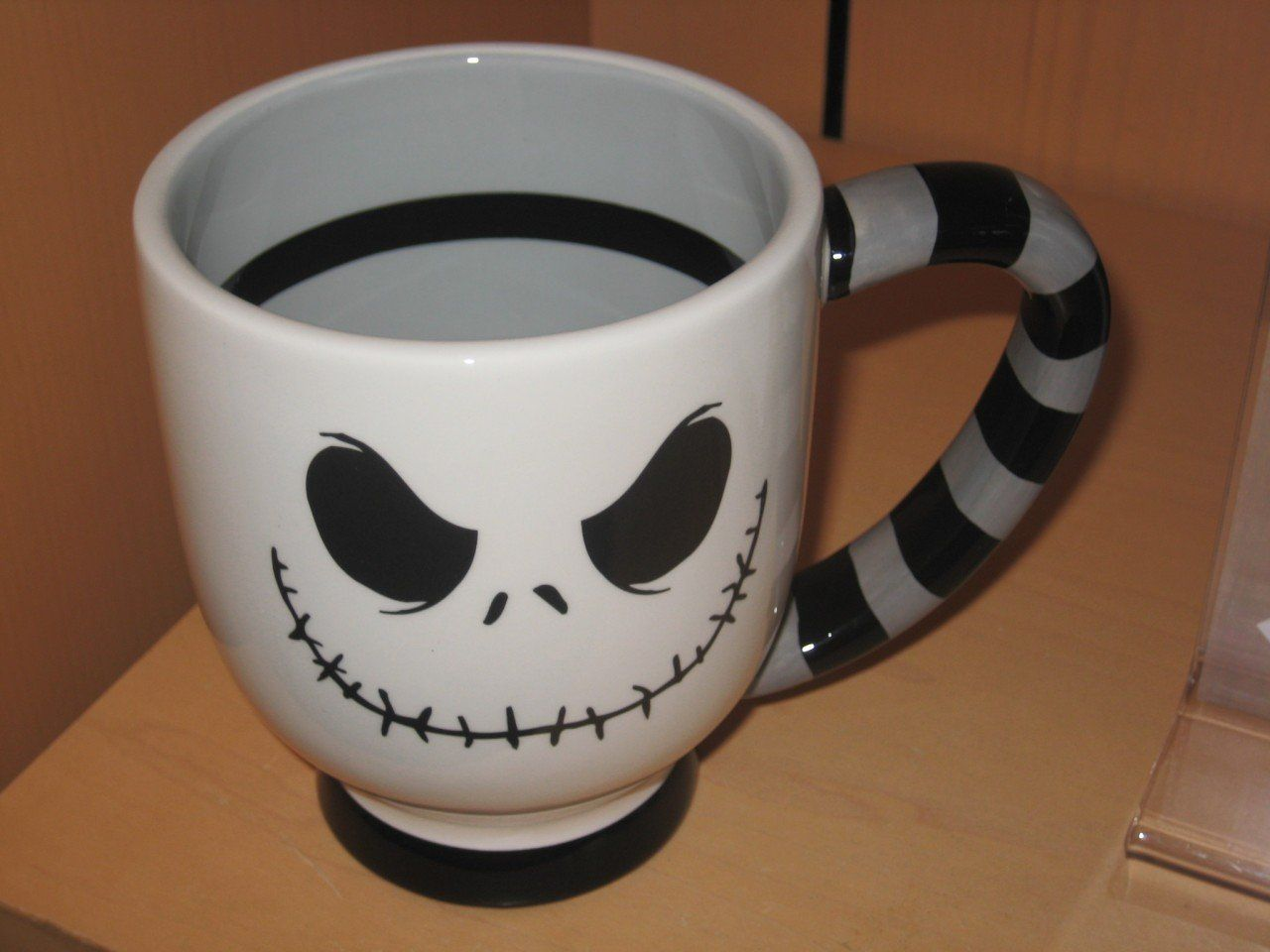 Amazon.com: Disney Jack Skellington Ceramic Mug - Nightmare Before ...