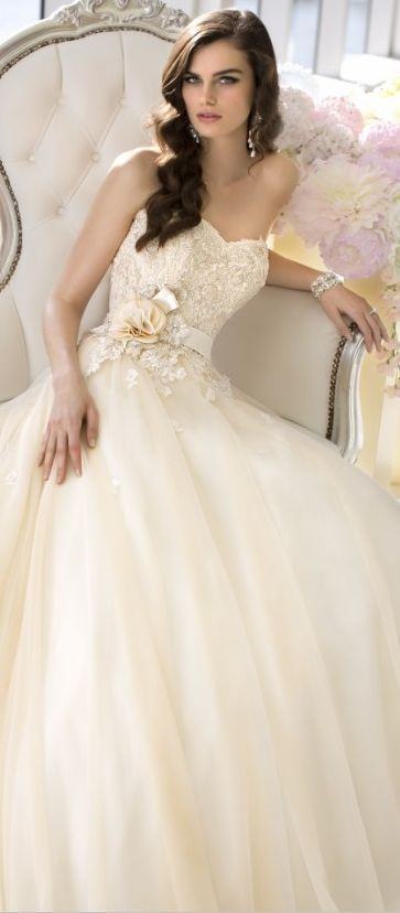Oh love this princess gown. #weddings #dreambridal #princess | Miw ...