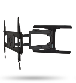 Modern Ultra Slim Design Which Allows Screen To Be Discreetly Mounted Just 37mm From Wall When Folded Back Or 560mm Wall Mounted Tv Tv Wall Mounts Tv Bracket