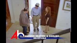 Answer Heating Cooling Inc Talks Simply Outstanding Service