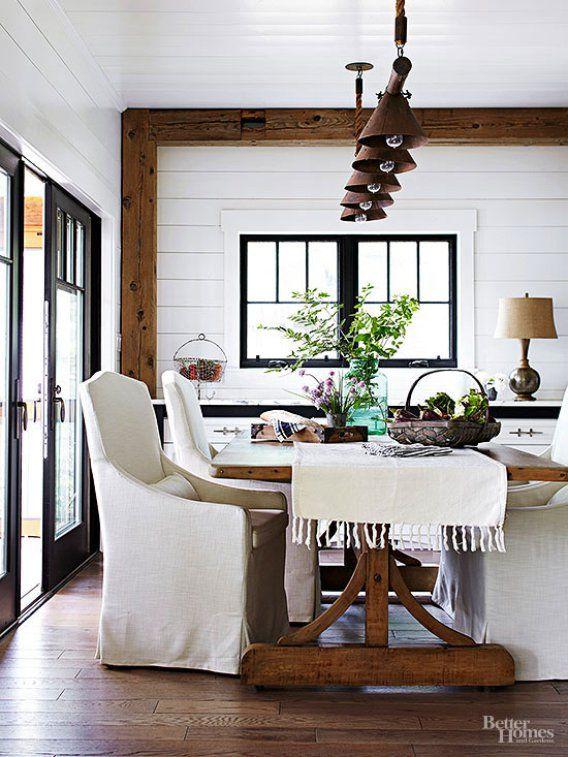 Modern Farmhouse Dining Room, Modern Farmhouse Dining Room Wall Decor