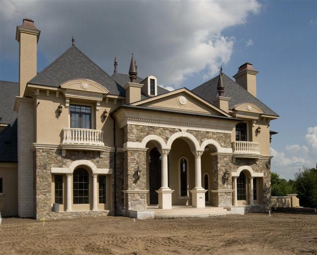 French Castle Luxury Home Design By John Henry Architect Aia Luxury House Plans Home Design Floor Plans Castle House