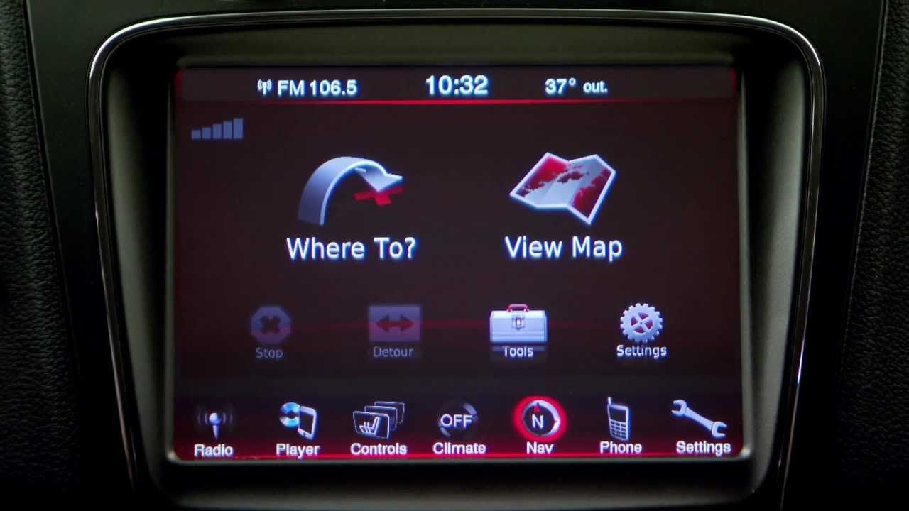 Chrysler Uconnect Touch 8 4n With Garmin Navigation The Next