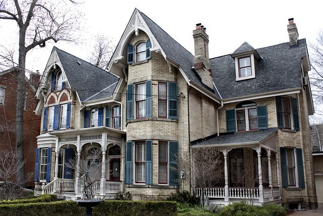 Gothic victorian style houses – Home photo style