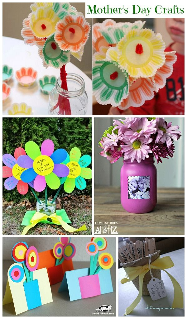 Mothers Day Craft Ideas Kids Part - 41: Motheru0027s Day Craft Ideas #MothersDay