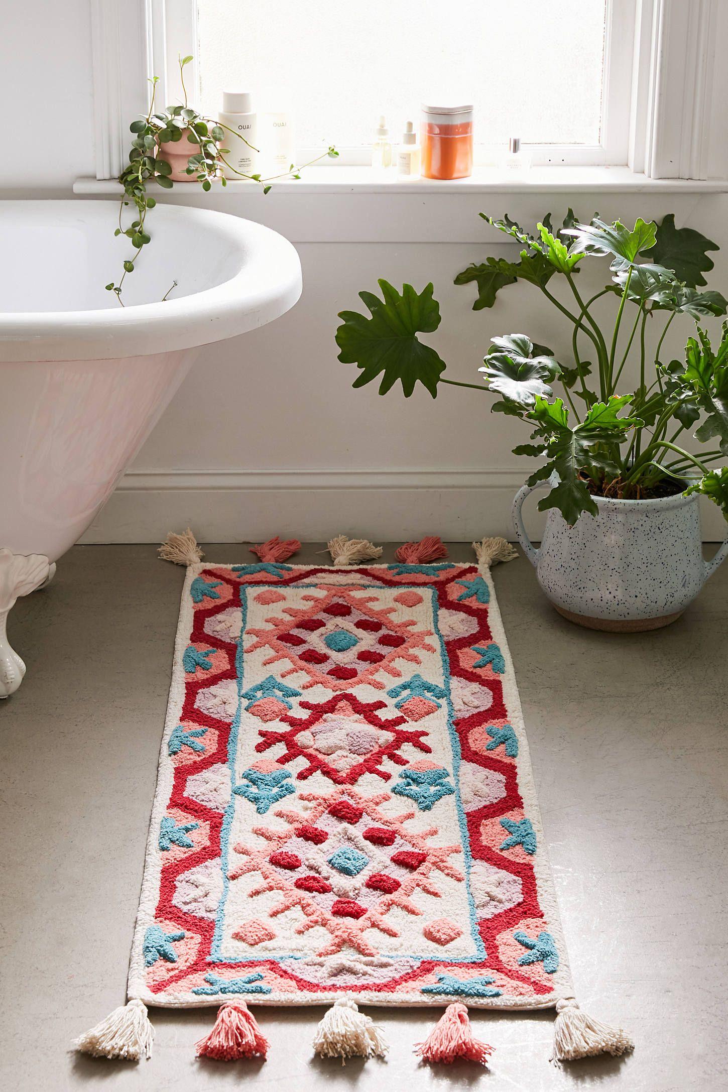 Fiona Runner Bath Mat Runner Bath Mat Bohemian Bathroom Interiors Addict [ 2175 x 1450 Pixel ]