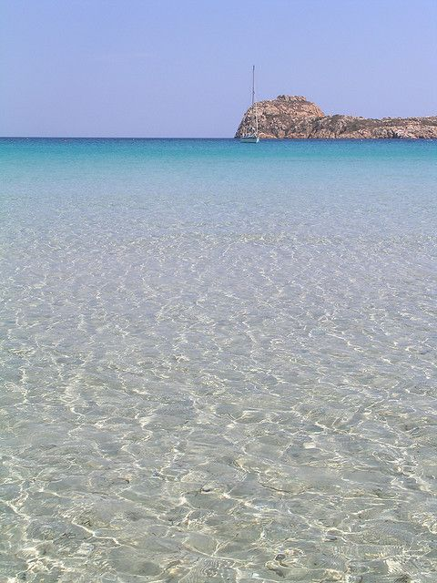 White To Cyan Sardinia Italy Places And Beautiful Places