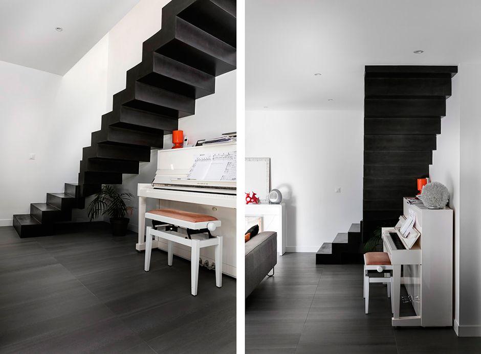 escalier-beton-cire-matisse-nantes-02 | Escaliers | Pinterest ...