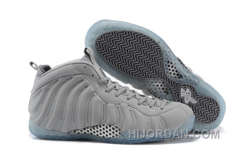 e69148f539d Nike Air Foamposite One Grey Suede 575420-007 WA6AT in 2019