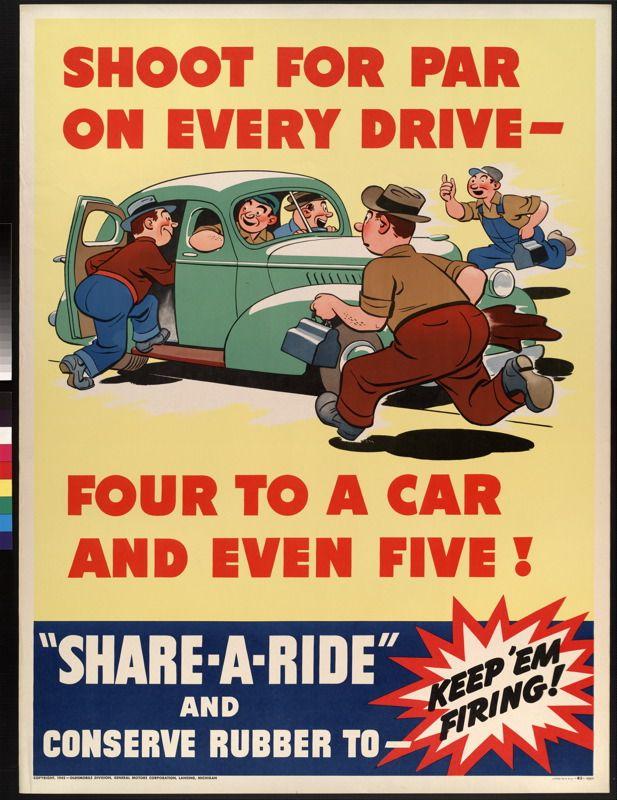 Share A Ride Us General Motors Corporation Oldsmobile Division C