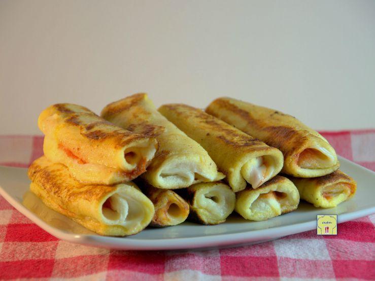 French toast roll up pomodoro e scamorza, ricetta facile e veloce: uno sfizioso antipasto finger food che piace a tutti!