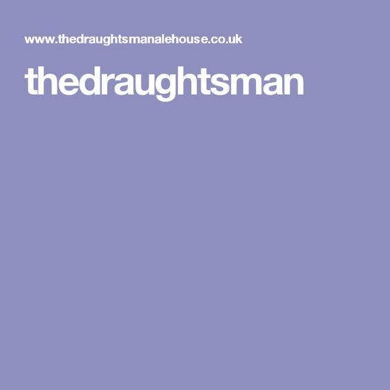 Thedraughtsman