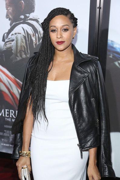 Tia Mowry Photos Photos: 'American Sniper' Premieres in NYC | Hair styles, Black girl braids ...