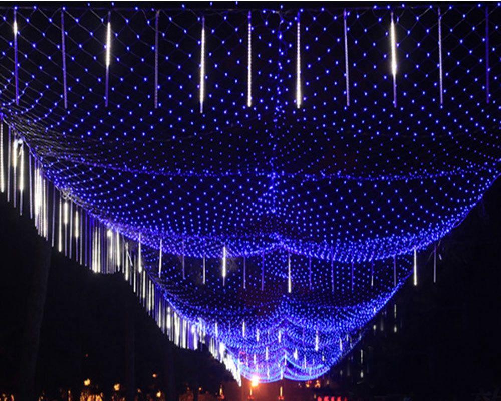 Supplies LED Net String Wedding Curtain Christmas Decoration Mesh Fairy Lights