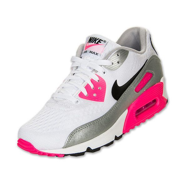 Women's Nike Air Max 90 Premium ($120) ❤ liked on Polyvore