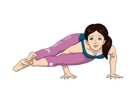 eight angle yoga pose  yoga poses advanced yoga eight