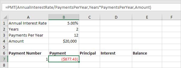 loan calculator amortization schedule excel