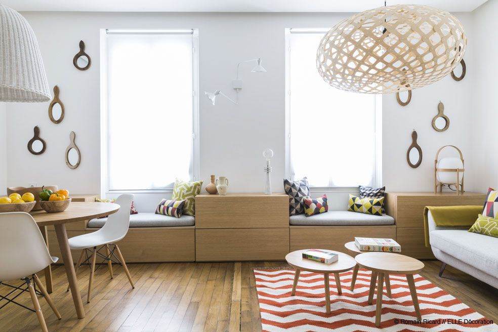 2 small and cute french apartments under 50 square meters patikę interjerai liked interiors pinterest square meter apartments and squares