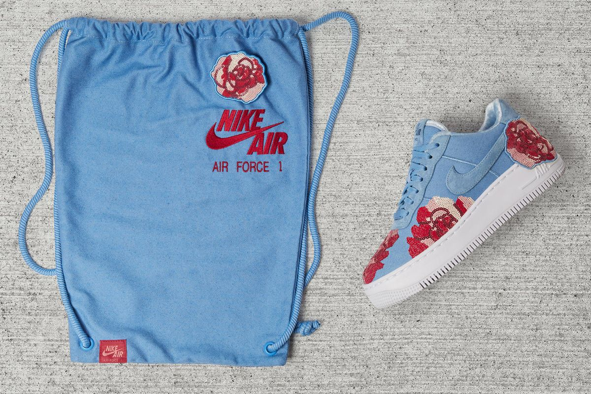 Nike Adds Rose Sequins to the Air Force 1 Low | Nike, Nike