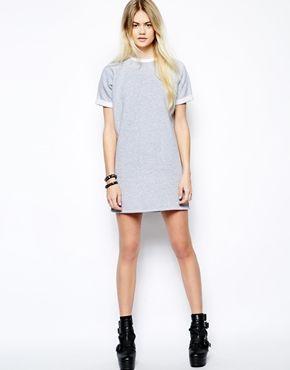 5bc5c854b7 Image 4 of Daisy Street Sweater Dress with Turn Back Sleeve ...