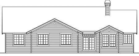 Plan W6896AM: Well-Planned Craftsman Home