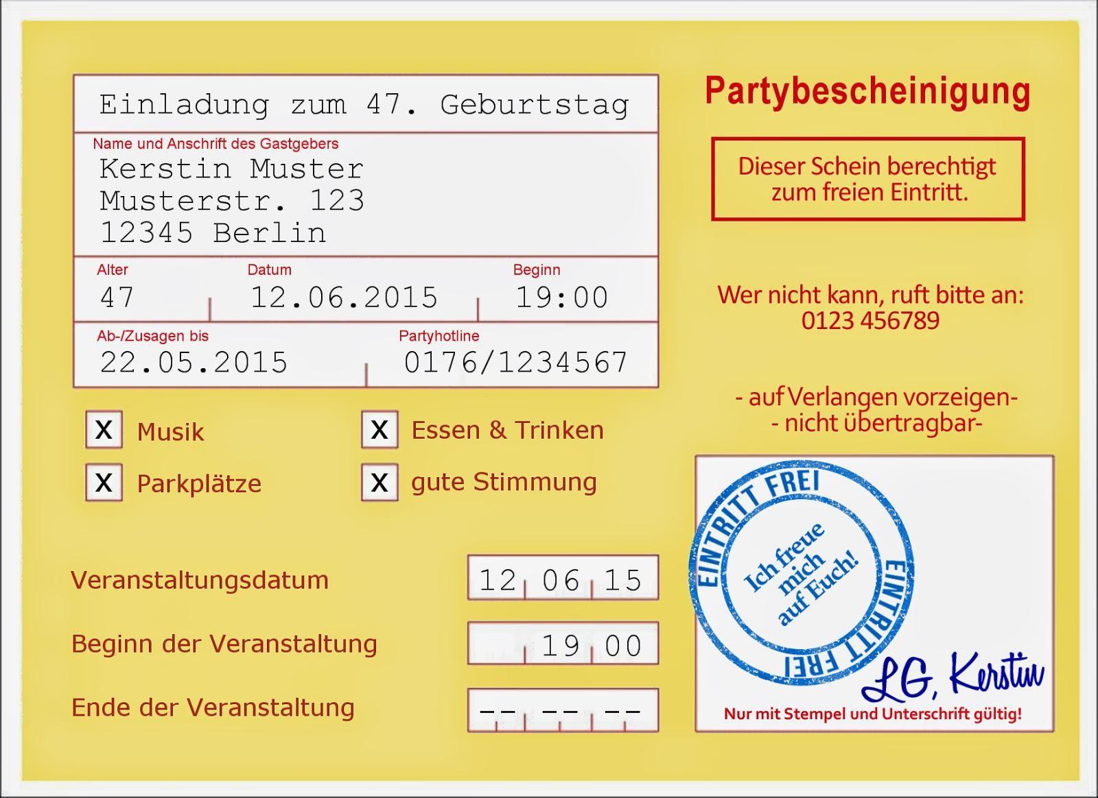 einladungskarten-50-geburtstag-vorlagen | Basteln | Pinterest | 50er ...