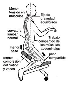sillas plegables ergonomicas