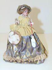 POUPEE Miniature Mignonette POUPEE de MODE MANNEQUIN BISCUIT PARIS UNIS 1900 N°5