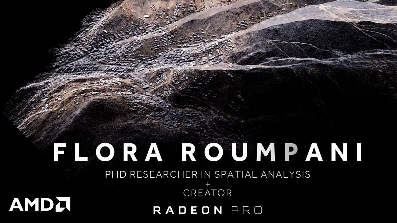 Stay tuned to see how Radeon™ graphics cards support Flora Roumpani's dream of improving infrastructure through her high resolution 3D models using drones. D...