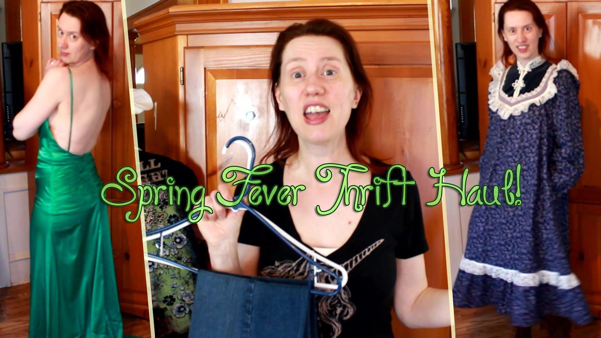 Spring Fever Thrift Haul + Try-on