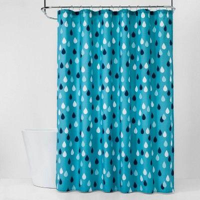 Raindrops Shower Curtain Pillowfort