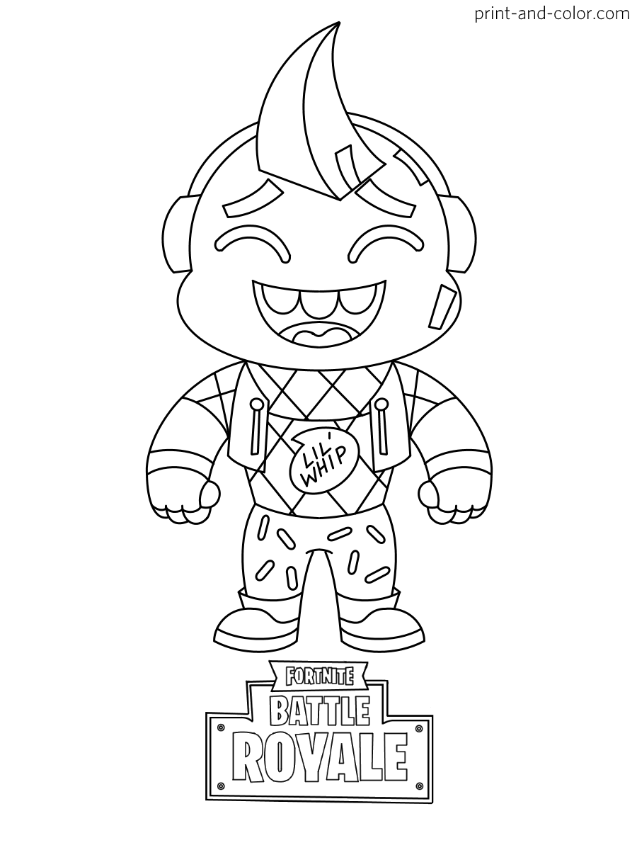 Fortnite coloring pages   Coloring pages, Coloring pages ...